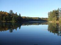 terrains à vendre  emplacement sur le lac