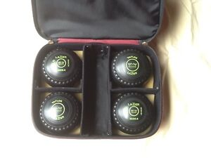 Taylor Lazer Size 4 Lawn Bowls & Carry Bag  Good Condition. Asquith Hornsby Area Preview