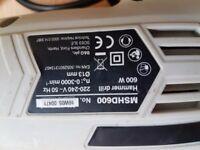 MAC ALLISTER 600 W CORDED HAMMER DRILL MSHD600