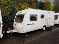 2008 Bailey Ranger 500/5 5 berth caravan Light To Tow AWNING, VGC,BARGAIN !