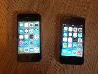iPhone 4 and iPhone 4s for sale