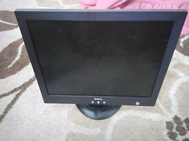 "Dell Pc monitor 15"" ideal for cctv or second monitor"