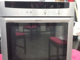 Neff built in electric oven