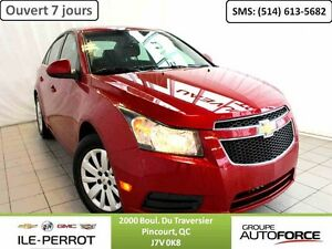 2011 CHEVROLET CRUZE AUTO, A/C, TURBO,
