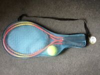 Children's tennis set inc 2 rackets and 1 ball - new and unopened