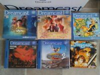 Dreamcast games (incl. Shenmue 1 and 2)