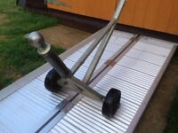 CARAVAN MOVER -CAME FROM PRO CAR FORMULA ONE CAR TRANSPORTERS ALSO SUIT RECOVERY CARAVAN TRANSPORTER