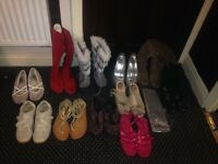 Joblot of lady's shoes all size 5 £12 for all