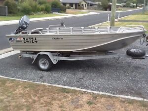Quintrex Explorer Boat St Helens Break ODay Area Preview