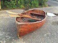 """Clinker"" built dinghy"