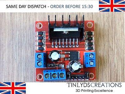 L298N H Bridge Stepper Motor Driver Controller Board Arduino, Pi, ESP - UK