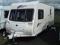 2007 Bailey pageant monarch 2 berth end changing room with fitted mover & awning