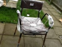 Commode chair brown