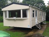 Holiday caravans at Haggerston Castle