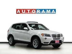 2013 BMW X3 NAVIGATION LEATHER PANORAMIC SUNROOF 4WD