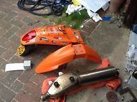 2005 KTM lc4 parts