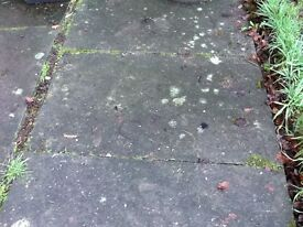 Reclaimed paving slabs approx size 3ft X 2ft