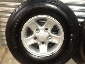 Land Rover defender boost alloy wheels and tyres