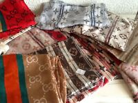 3 for 2 new scarves/sarongs and bags