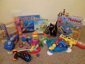 Big bag of boy toys