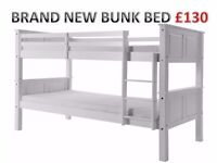 Brand New Wooden Bunk Bed can split into 2 single beds £130.00 RRP. 279.00