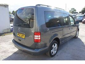 2012 VOLKSWAGEN CADDY MAXI LIFE BUS 7 SEATER MANUAL DIESEL PART EXCHANGE AND FINANCE TAKEN