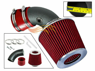 BCP RW RED For 96-99 BMW Z3 318i 318is 318ti 1.9L Air Intake System +Filter