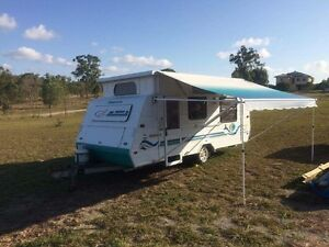 JAYCO FREEDOM Air conditioned Poptop 2001 Caravan Calliope Gladstone Surrounds Preview