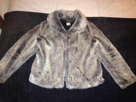 Biba Fur Jacket size 10/12