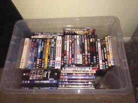 231 dvds, huge variety