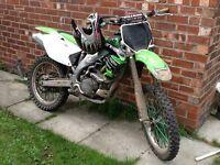 Kxf 450 mint bike