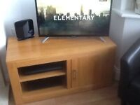 TV stand in pine