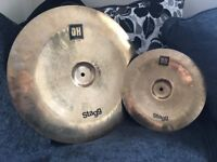 "Stagg DH 18"" and 12"" China Cymbals"
