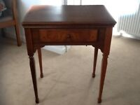 Vintage Singer 201K sewing machine table (table only)