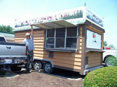 Used 8 X 20 Food Concession Trailer Mobile Kitchen Unit For Sale In Ohio -