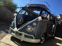 VW Splitscreen For that Special Day ,