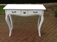 White vanity unit/ dressing table