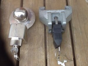 Heavy Duty Trailer Coupler Locks