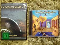 Magnum CD and DVD - The Visitation CD (2011) and Livin' The Dream DVD (2 discs) Rock/Metal