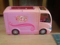 Very Large Barbie Camper Van