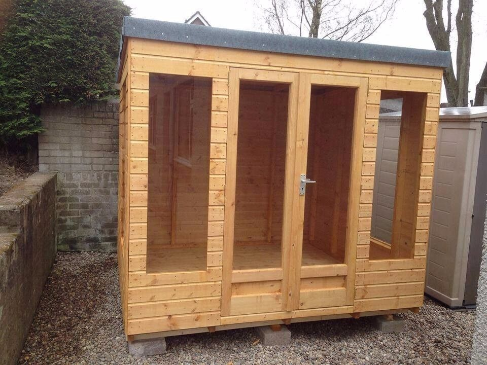 SALE: 8ft x 7ft Wooden Summer House