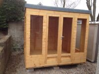 SALE: 8ft x 7ft Wooden Summer House