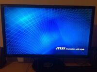 ASUS VG248QE 24 inch Widescreen LED Multimedia 3D Monitor 144 Hz, 1 ms, DVI Display Port, HDMI)