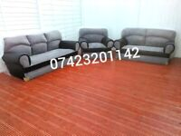 Sofas 3&2 Seaters plus matching armchair new and unused still packed can deliver.