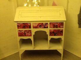 Upcycled Vintage Bureau / Writing Desk