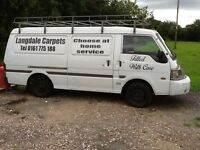 Mazda van diesel double doors good condition £1150