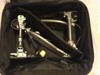 Pearl Eliminator Redline Double Bass Drum Pedal - Belt Drive. In very good condition