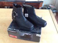 Biker Boots size 9 (New)