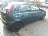 vauxhall corsa 1.2 with 6 months mot till march 2018 with no advisory's