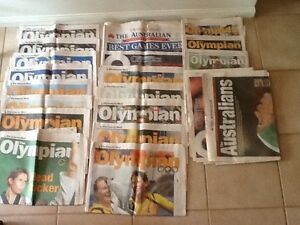 Olympics 2000 Newspaper lift outs Buderim Maroochydore Area Preview